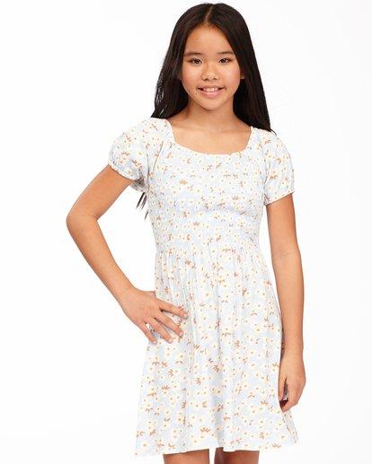 0 Girls' Beach Love Knit Dress Blue ABGKD00118 Billabong