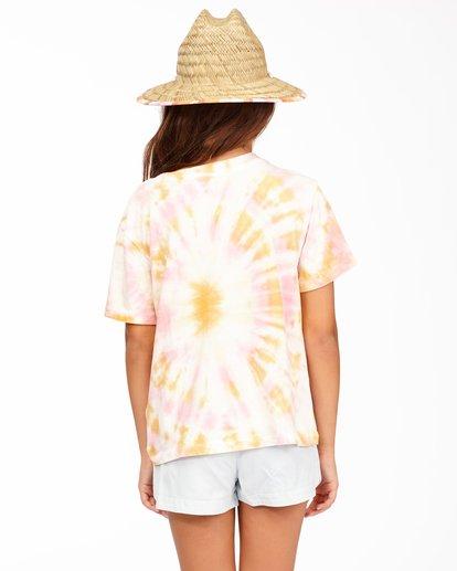 2 Girls' Too Cool T-Shirt Grey ABGKT00125 Billabong