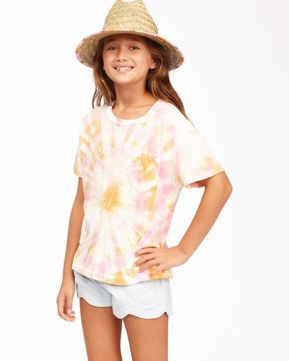 1 Girls' Too Cool T-Shirt Grey ABGKT00125 Billabong