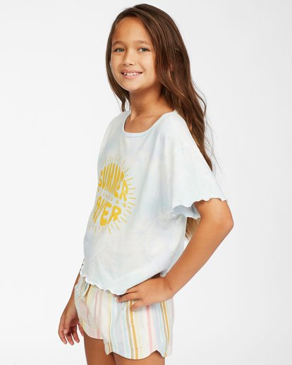 1 Girls' Girlfriend T-Shirt Brown ABGKT00128 Billabong