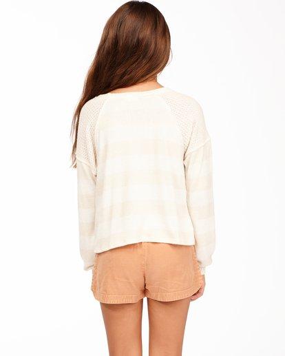 2 Girls' Fresh Start Knit Top White ABGKT00136 Billabong