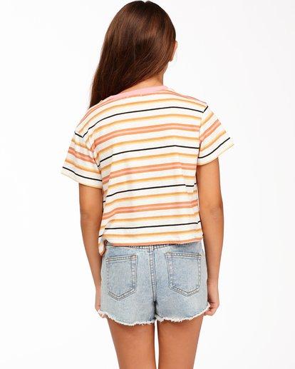 2 Girls' Surf Days T-Shirt Brown ABGKT00139 Billabong
