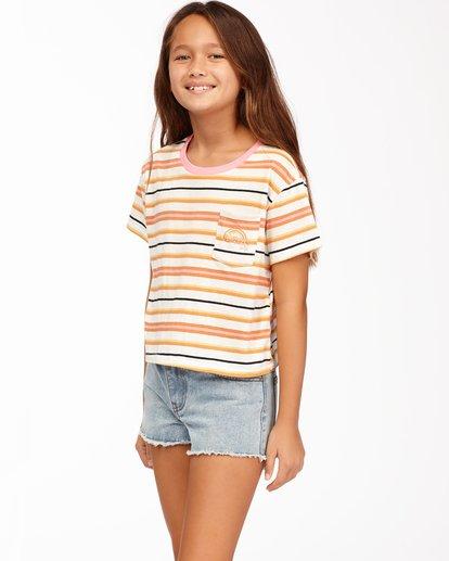 1 Girls' Surf Days T-Shirt Brown ABGKT00139 Billabong
