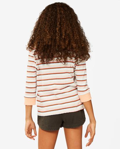 2 Girls' Going Stripes Top Grey ABGKT00141 Billabong