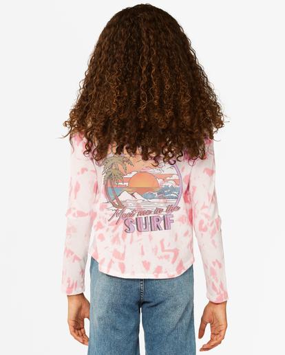 2 Girls' Back In Time Long Sleeve T-Shirt Multicolor ABGKT00142 Billabong