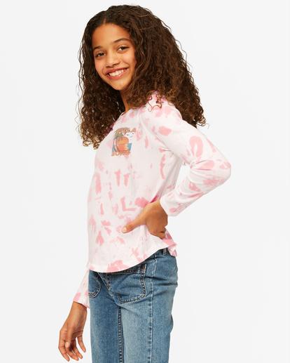 1 Girls' Back In Time Long Sleeve T-Shirt Multicolor ABGKT00142 Billabong