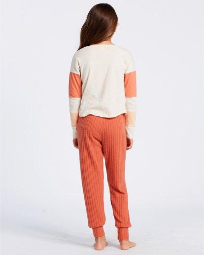 3 Easy Loungin Knit Jogger Pants Yellow ABGNP00101 Billabong