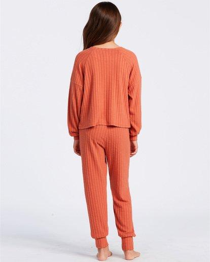 5 Easy Loungin Knit Jogger Pants Yellow ABGNP00101 Billabong