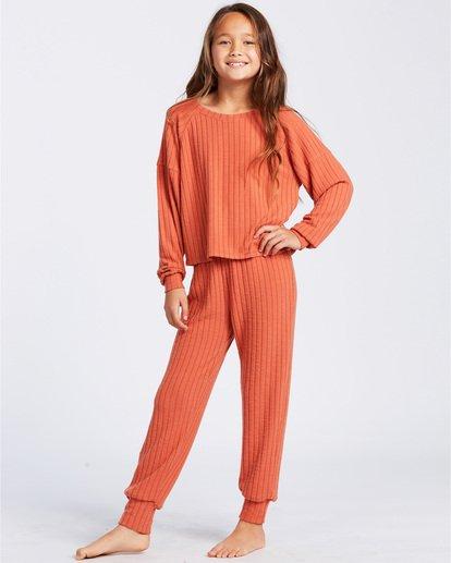 4 Easy Loungin Knit Jogger Pants Yellow ABGNP00101 Billabong
