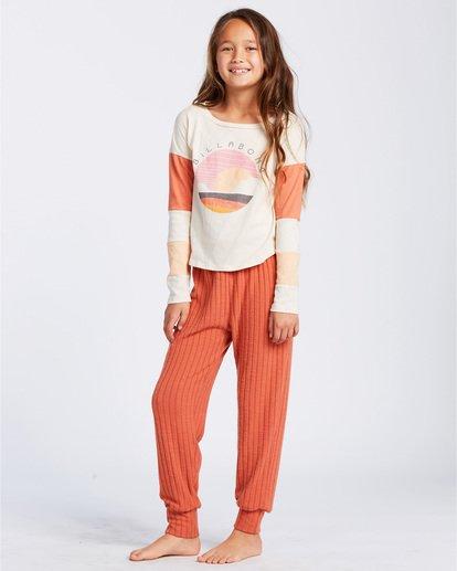 1 Easy Loungin Knit Jogger Pants Yellow ABGNP00101 Billabong