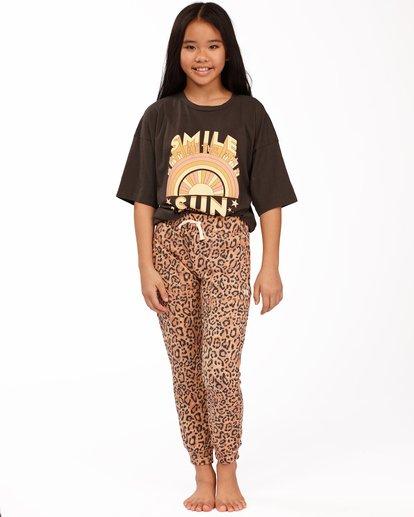 0 Girls' New Day Sweatpants Multicolor ABGNP00112 Billabong