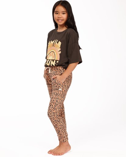 1 Girls' New Day Sweatpants Multicolor ABGNP00112 Billabong