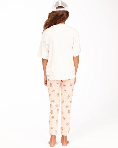 2 Girls' New Day Sweatpants Pink ABGNP00112 Billabong
