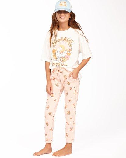 1 Girls' New Day Sweatpants Pink ABGNP00112 Billabong