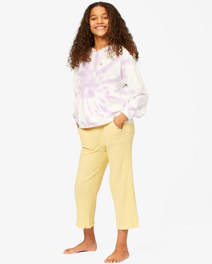 1 Girls' I'm Set High-Waisted Pants Yellow ABGNP00115 Billabong