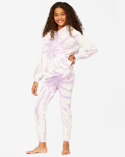 0 Girls' Making Waves High-Waist Sweatpants Multicolor ABGNP00117 Billabong