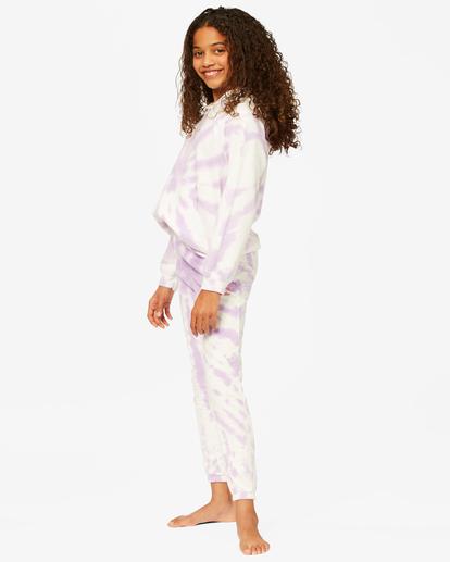 1 Girls' Making Waves High-Waist Sweatpants Multicolor ABGNP00117 Billabong