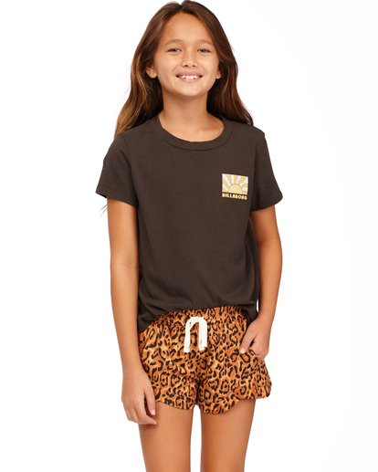 0 Girls' Mad For You Shorts Multicolor ABGNS00103 Billabong