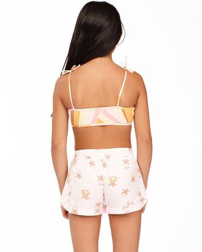 2 Girls' Mad For You Shorts Pink ABGNS00103 Billabong