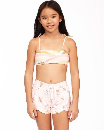 0 Girls' Mad For You Shorts Pink ABGNS00103 Billabong
