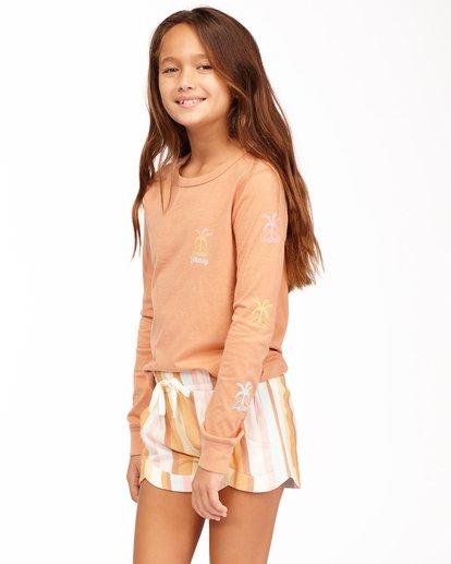 1 Girls' Mad For You Shorts Grey ABGNS00103 Billabong