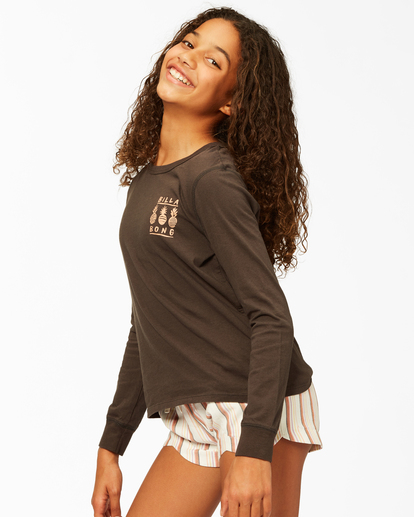 1 Girls' Mad For You Shorts White ABGNS00103 Billabong