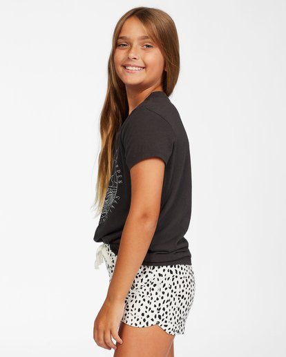 1 Girls' Mad For You Short White ABGNS00103 Billabong
