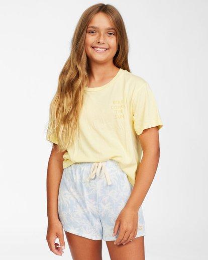 0 Girls' Palms All Day Shorts Brown ABGNS00110 Billabong