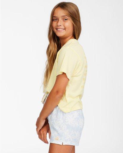 1 Girls' Palms All Day Shorts Brown ABGNS00110 Billabong