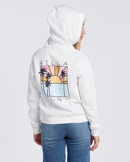 2 Rays Of Sunshine Hoodie White ABGSF00100 Billabong