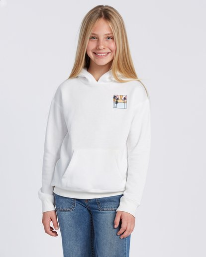 3 Rays Of Sunshine Hoodie White ABGSF00100 Billabong