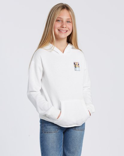 4 Rays Of Sunshine Hoodie White ABGSF00100 Billabong