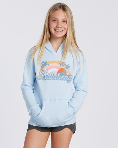 0 The Sun Is Coming Hoodie Blue ABGSF00102 Billabong