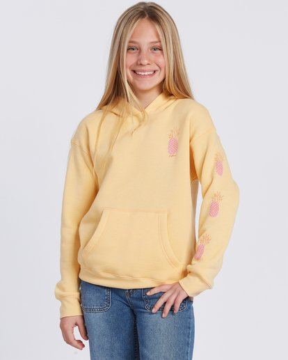 0 Good Times Hoodie Yellow ABGSF00103 Billabong