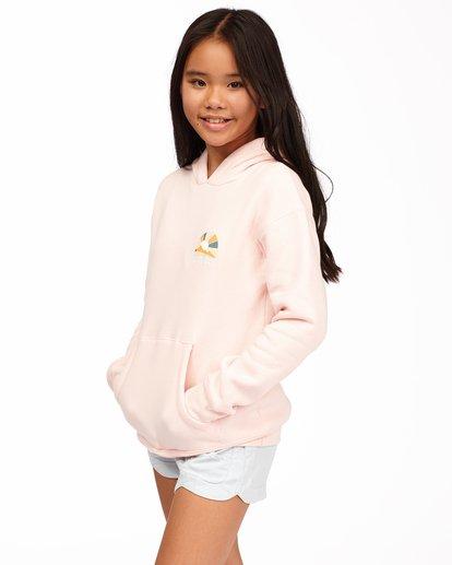 1 Girls' Keep Me Wild Pullover Hoodie Pink ABGSF00113 Billabong