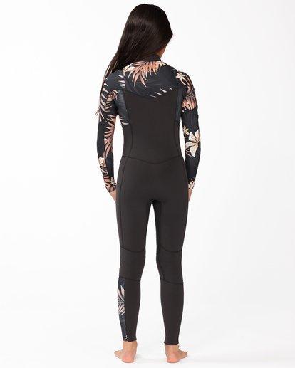 2 3/2 Girls' Salty Dayz Wetsuit Black ABGW100100 Billabong