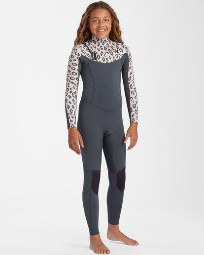 1 3/2 Girls' Salty Dayz Wetsuit Beige ABGW100100 Billabong
