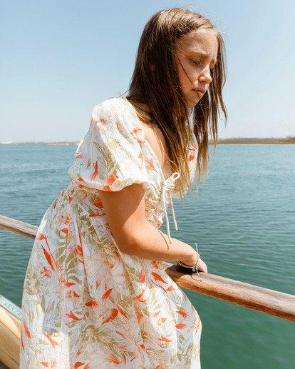 1 Girls 6-14 Beach Time Dress Grey ABGWD00112 Billabong