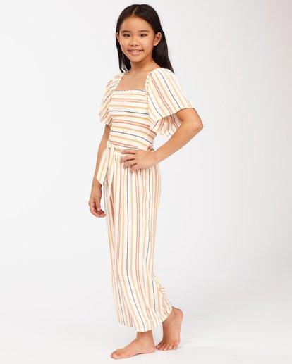 1 Girls' Sunny Days Jumpsuit Brown ABGWD00116 Billabong