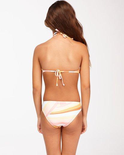 1 Girls' Sea Of Gold High Neck Bikini Set Grey ABGX200128 Billabong