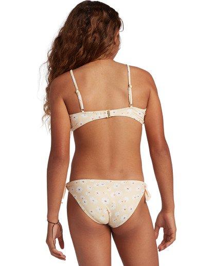 1 Girl's Sunshine Hanky Tie Bikini Set Yellow ABGX200131 Billabong