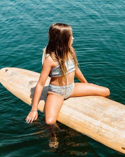 1 Girl's Sweeter Than You Tube Bikini Set Grey ABGX200145 Billabong