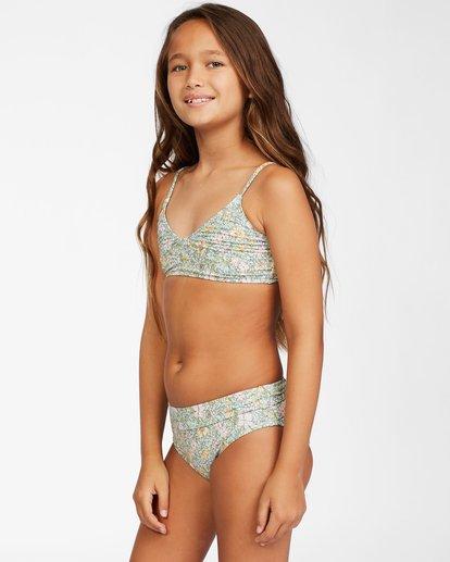 2 Girl's Sweeter Than You Trilet Bikini Set Grey ABGX200146 Billabong