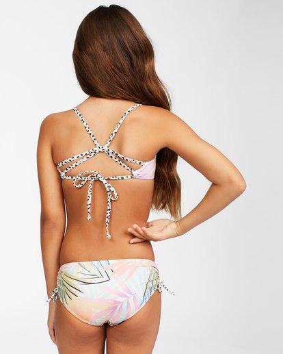 5 Girls' Tropic Party Reversible Trilet Bikini Set Grey ABGX200157 Billabong