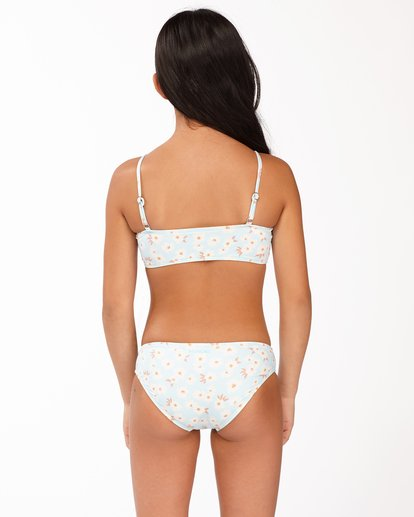 1 Girls' Picked For You Drawstring Tank Bikini Set Blue ABGX200166 Billabong