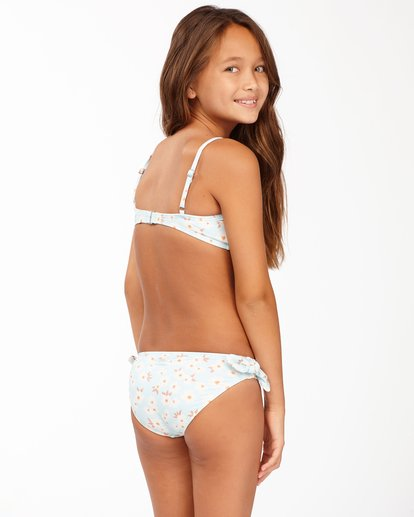 2 Girls' Picked For You Trilet Bikini Set Blue ABGX200167 Billabong
