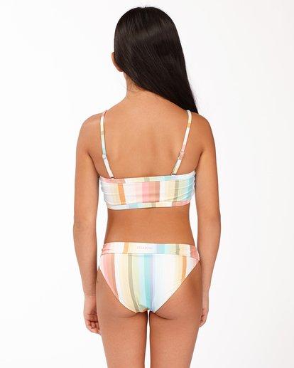 1 Girls' Chasing Summer Banded Tank Bikini Set Grey ABGX200172 Billabong