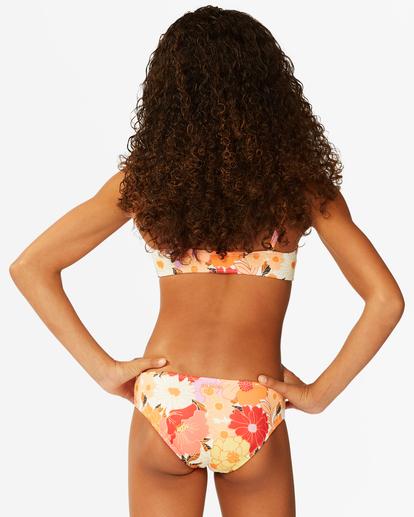 2 Girls' So Groovy Trilet Bikini Set Grey ABGX200176 Billabong