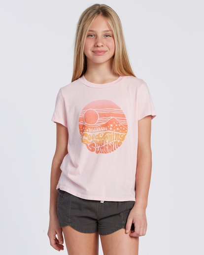0 Good Morning Sunshine T-Shirt Purple ABGZT00105 Billabong