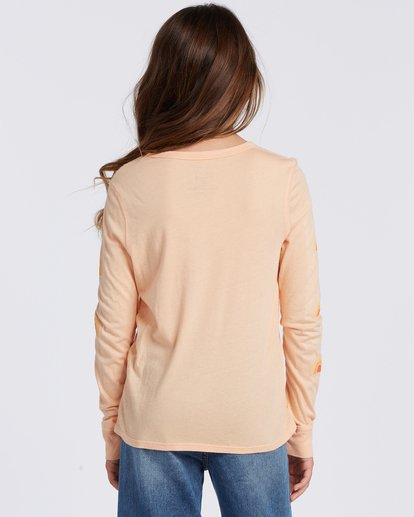2 Sun Kissed Long Sleeve T-Shirt Orange ABGZT00113 Billabong